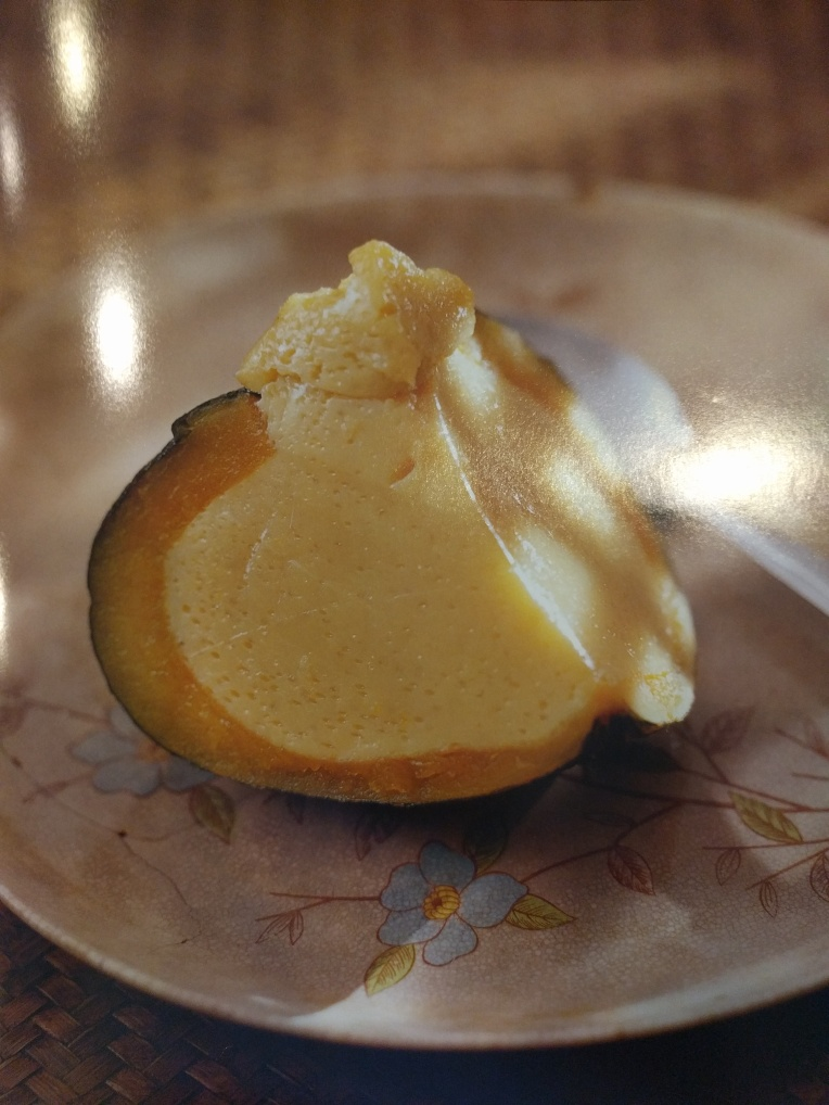 Steamed Pumpkin Custard